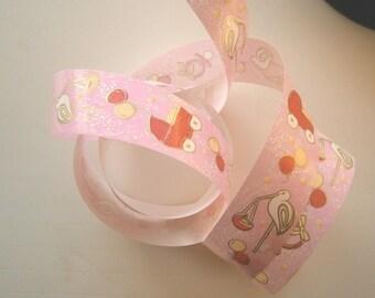 Fancy 25 mm - baby pink ref.545 BOLDUC