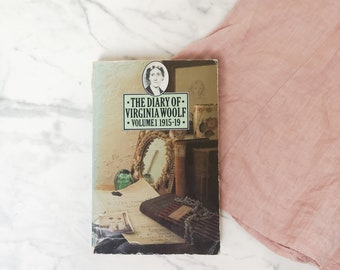 Diary of Virginia Woolf Volume 1 | 1915-19 | Published in 1977 by The Hogarth Press