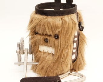 Han's Right Hand Man, A Wookie Inspired Hand Crafted Chalk Bag