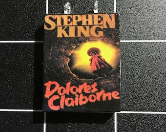 Dolores Claiborne by Stephen King Book Pendant