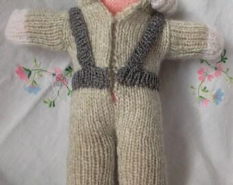 small doll Cosmonaut