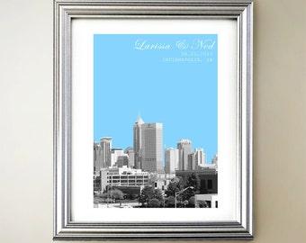 Indianapolis Personalized Cityscape
