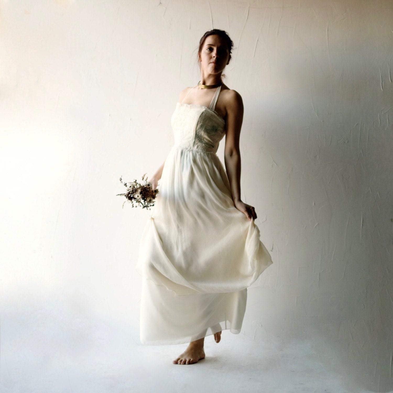 Brautkleid Boho-Hochzeits-Kleid Strand Brautkleid