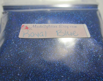 4 oz Bulk Holographic Glitter in various colors solvent resistant extra fine 1/128 nail art glitter