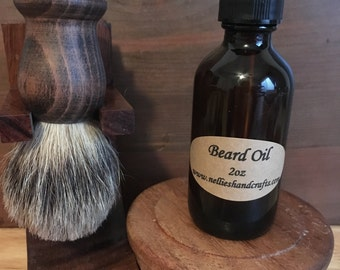 Beard Oil - Beard Conditioner - Men's Natural Hair Products