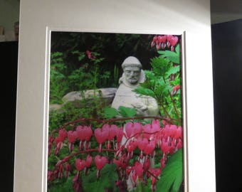 St. Francis with Bleeding Hearts