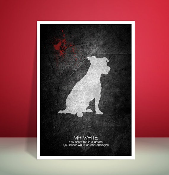 Reservoir Dogs // Mr White // Quentin Tarantino // Unique Art Print
