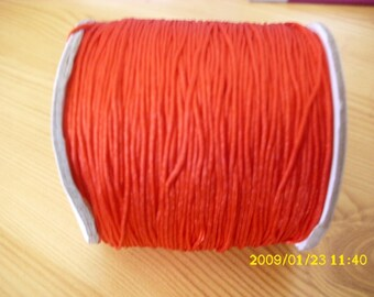 5 meters of nylon thread for shamballa 0.8 mm Red