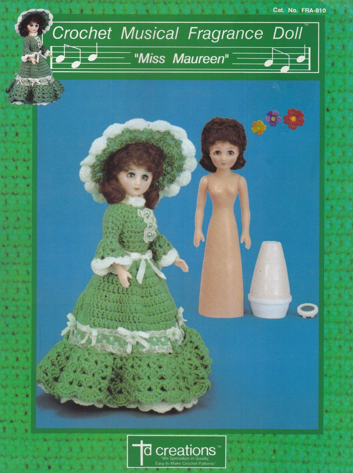 Miss Maureen Td Kreationen häkeln musikalische Duft Puppe