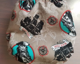 Pirates of the Caribbean Diaper Cover