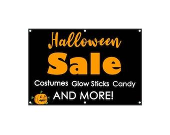 Halloween Sale Banner - Vinyl