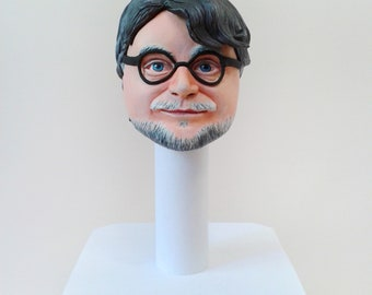 Guillermo del Toro 1/6 head Polymer clay Pan's labyrinth