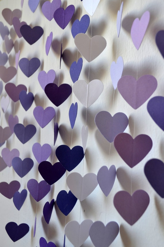 Items similar to diy heart mobile kit lilac dreams wall hanging items similar to diy heart mobile kit lilac dreams wall hanging baby shower wedding decor baby mobile birthday gift party decor photo prop on junglespirit Gallery
