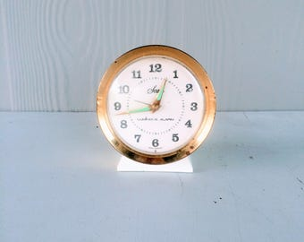 Vintage Sears Alarm Clock Glow in the Dark Alarm Clock