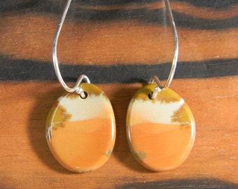 Oregon Jasper Earrings