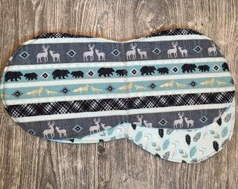 North Woods Burp Cloth