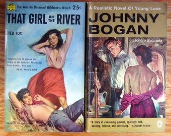Five Popular Fiction PULP FICTION books