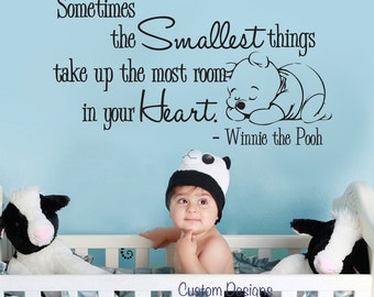 "Wall Decal Winnie the Pooh Nursery Wall Words Large 050-40"" (XLARGE)"