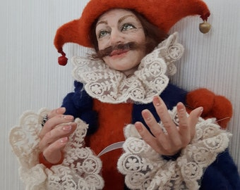 Caractéristique de la poupée art doll poupée poupée bouffon autoriale intérieur