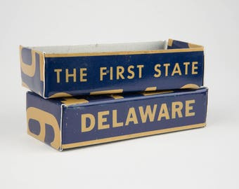 Delaware license plate box - father's day gift - gift for mom's dad's and grad's - teacher gift - graduation gift - graduation gift box