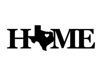 Home state sign - state sign - Home sign