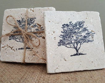 Coasters, Coasters Set, Drink Coasters, Tree Coasters, Coffee Coasters, Housewarming Gift, Gift Ideas, New Home Gift Ideas, Tree of Life