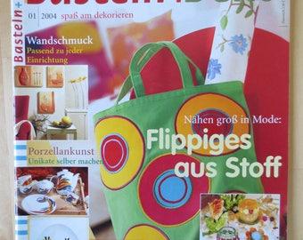 Magazine crafts + Deco n ° 01/2004 anglais
