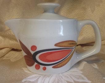 Retro Teapot Mod Orange