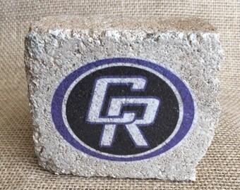 Cedar Ridge High School - Spirit Stone decor
