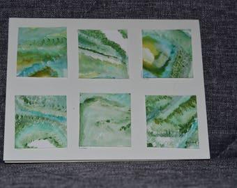 Green Large Tile Card