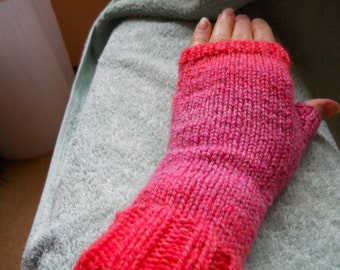 ladies tweed fingerless gloves