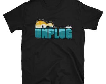 Unplug Guitar T-Shirt