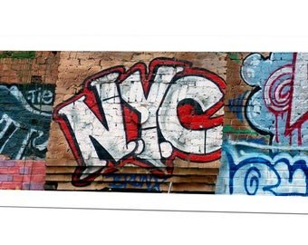 Andre Charles NYC Graffiti Greeting Card