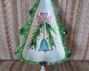 Holt Howard Christmas Tree Candy Tray