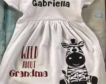 Girls Personalized Dress