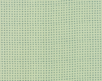 Tucker Prairie by One Canoe Two - Tiny Crosses in Winter Sage (36006-22) - Moda - 1 Yard