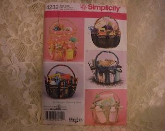 Simplicity craft pattern organizer