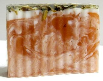 Fresh Cut Roses Soap   Aloe/Shea/Coconut/Mango Butter Soap   Artisan Soap   Gift for Her   Spa Gift   Gift Under 10   4.5 - 5 oz.
