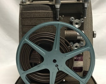Bell & Howell 8mm Film Projector 1950's