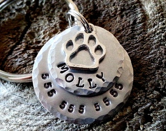 Dog Tags / Personalized Pet ID Tag / Dog Tag  / Pet Tag / Cat Tag / Dog Tag for Dogs / Personalized Dog Tag - Pet Accessories