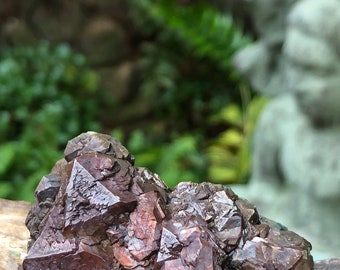 Iridescent Pyrite Crystal 170 gm, Texas, Mineral Specimens, Healing Crystals, Meditation Stones, Altar Stones