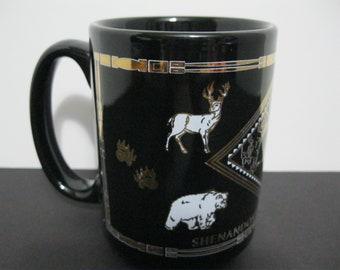 Vintage Shenandoah National Park Mug, Virginia Souvenir Mug,
