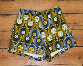 Jekkah Tribal High Waist Shorts