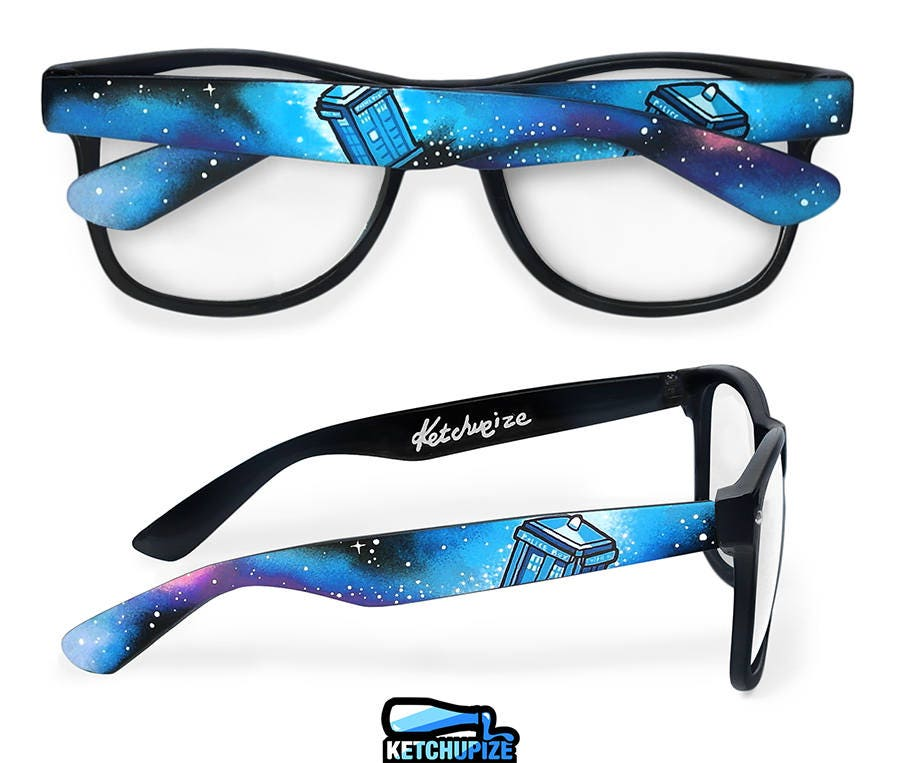 Doctor Who Galaxy Clear Lens Prescription Glasses Unique Gift