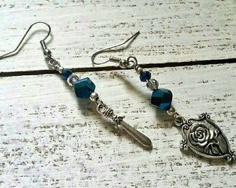 Sword and Shield Earrings