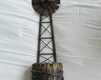 Wind mill bottle opener