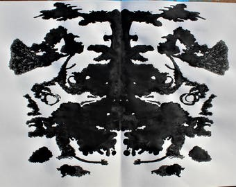 TIGER INK BLOT