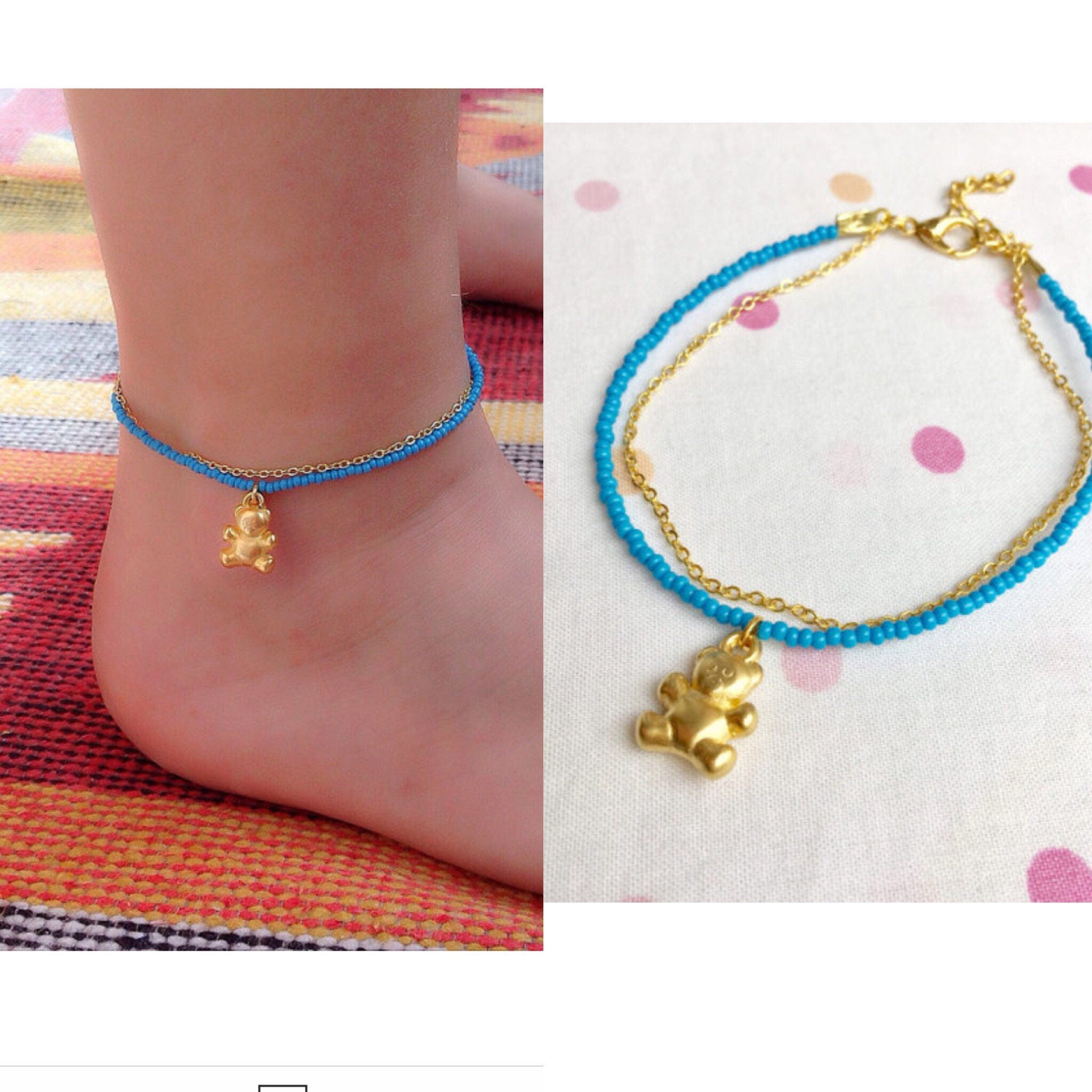 beach white yellow fullxfull ankle girls boho sunny summer beads friendship matching hemp surfer womans bracelets p il teen hippie anklet anklets glass gift