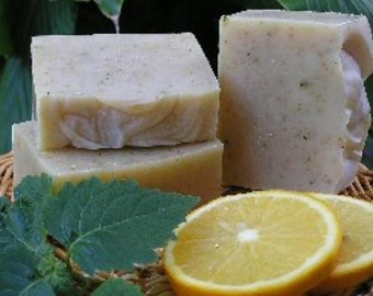Gardener's Soap All Natural Herbal Handmade with Citrus & Patchouli