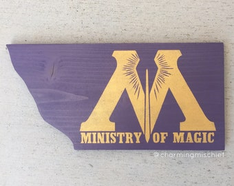 Harry Potter: Ministry of Magic Sign